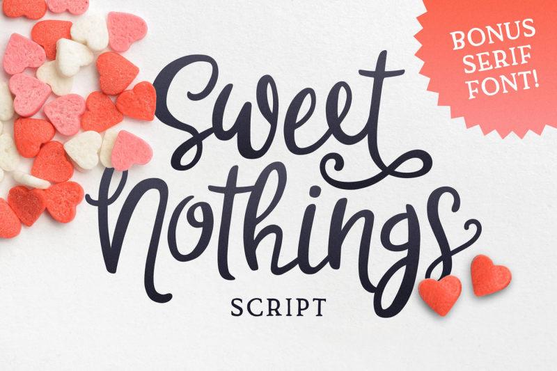 sweet-nothings-script-bonus-font