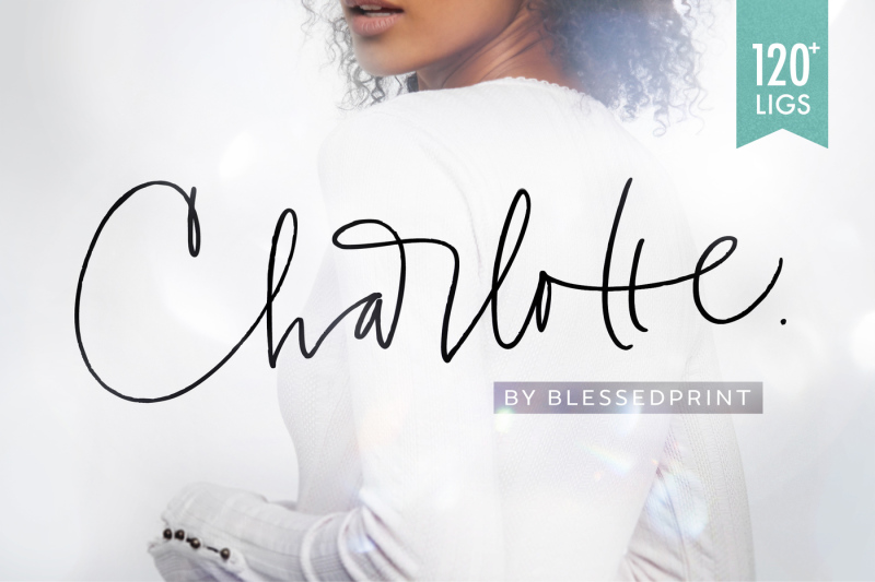 charlotte-script-with-120-ligatures
