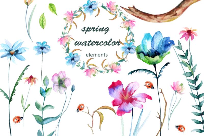 spring-watercolor