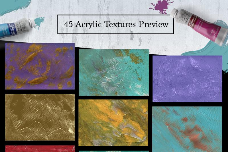 45-acrylic-paint-textures