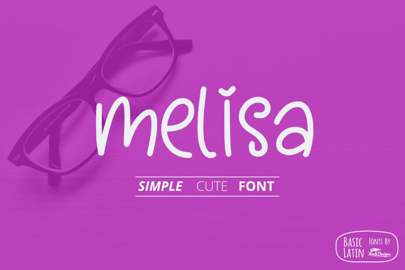melisa-fun-font
