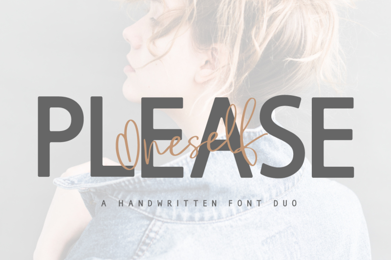 please-oneself-font-duo