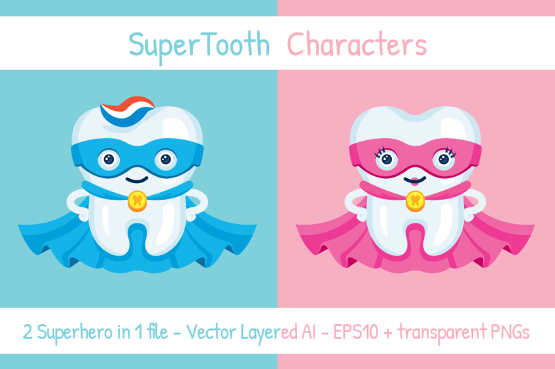 supertooth-male-and-famale-characters