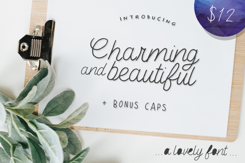 charming-and-beautiful-font