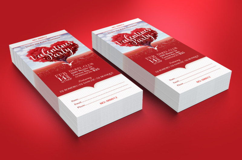 tree-heart-valentines-party-ticket-template
