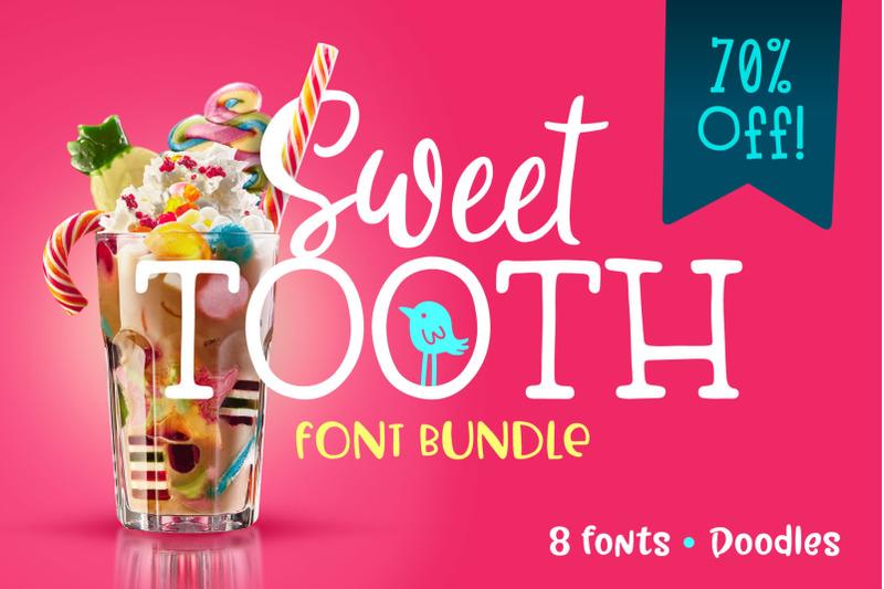 sweet-tooth-font-bundle