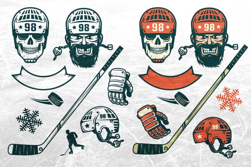 authentic-hockey-set