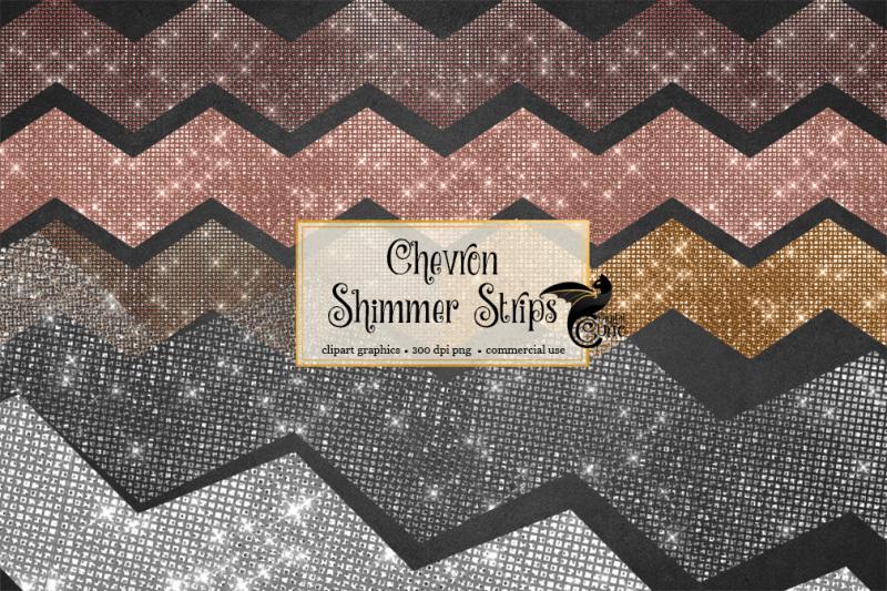 chevron-shimmer-strips