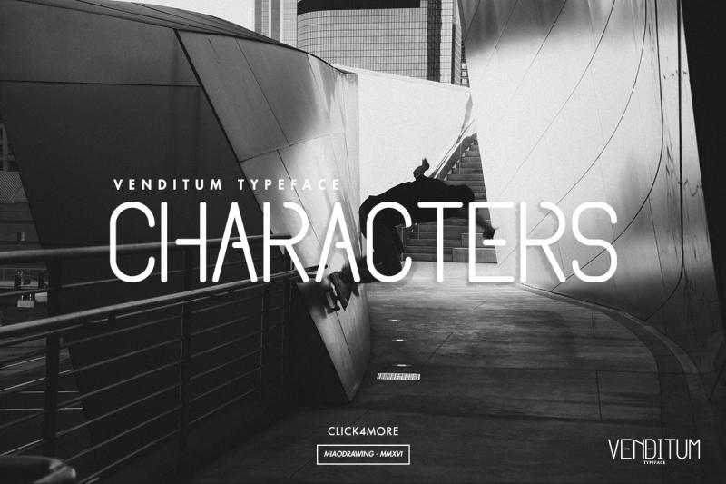 venditum-typeface