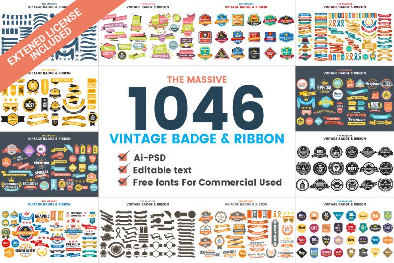 1046-vintage-badge-and-ribbon