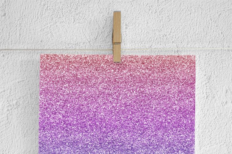 gradient-glitter-digital-paper