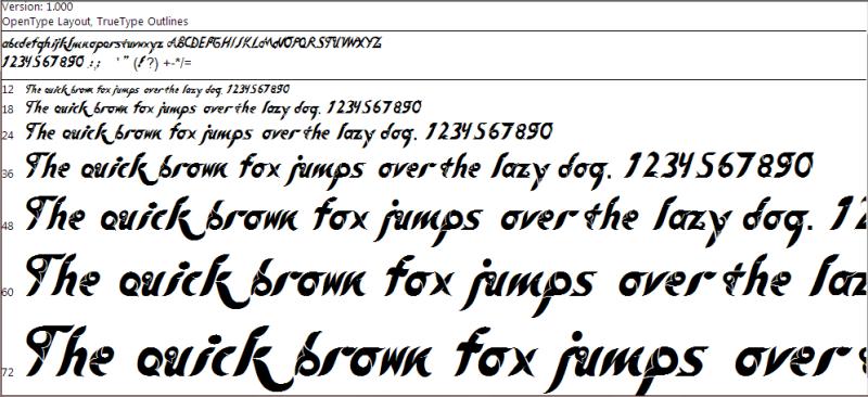 folka-tribal-font