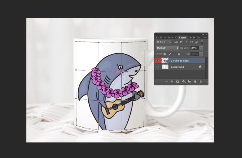 Free Monochromatic cup mockup, coffee mug mock up, white psd mug mock ups (PSD Mockups)