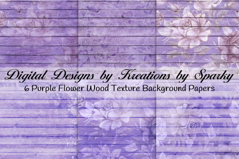 purple-flower-wood-textured-background-papers