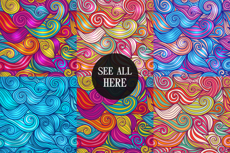 seamless-wave-pattern-collection