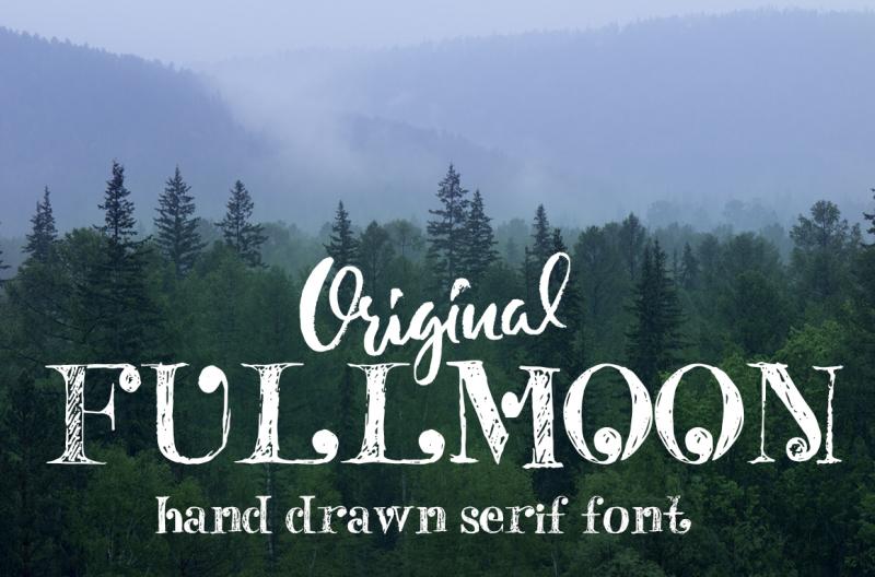 fulmoon-serif-font