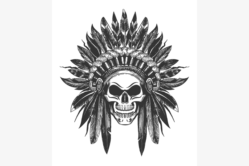 native-american-indian-skull-in-war-headdress