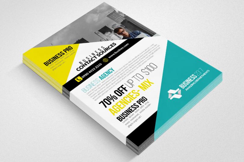humanitarian-aid-organization-flyer
