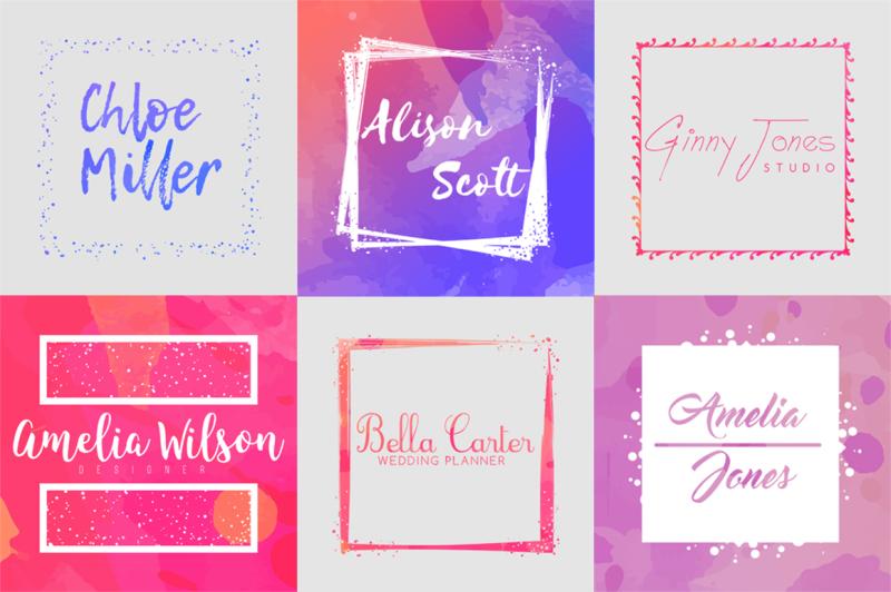 40-percent-off-feminine-logo-creator-kit-square