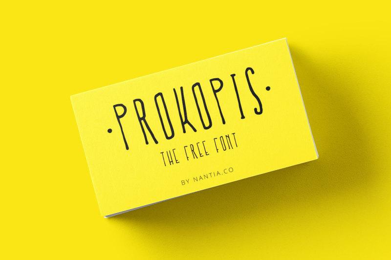 prokopis-font
