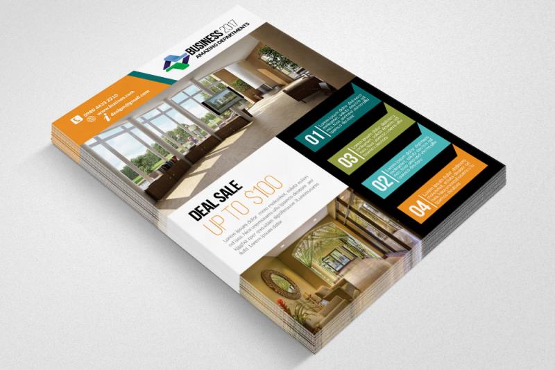 home-real-estate-flyer