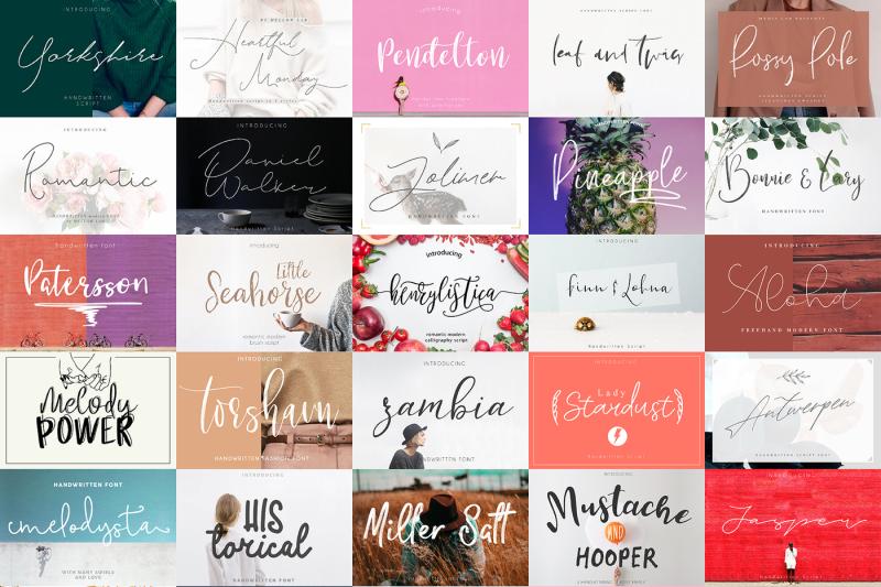 147-in-1-font-bundle-sale