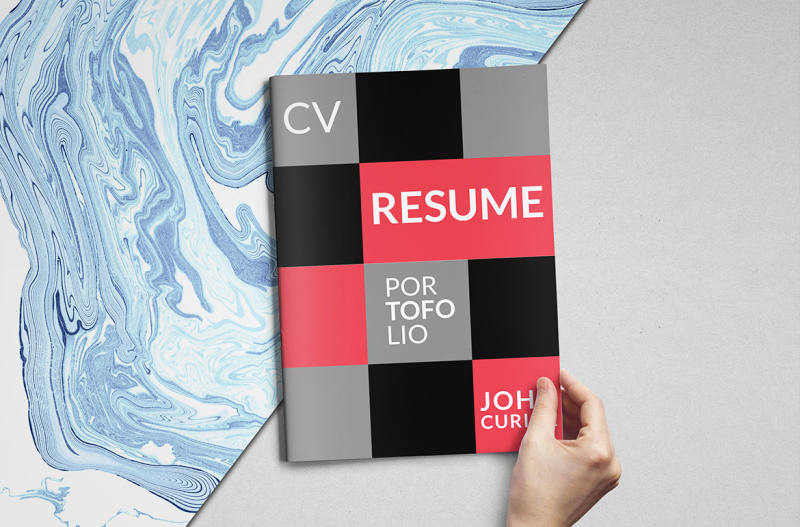 creative-resume-booklet