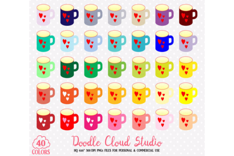 40-colorful-mugs-clipart-rainbow-cute-coffe-cups-clip-art-stickers