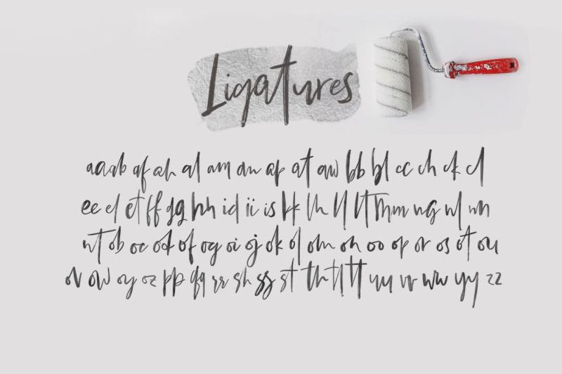bestlady-romantic-brush-font