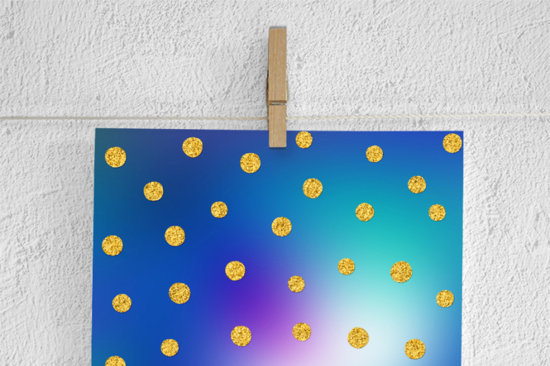 colorful-and-gold-foil-confetti-papers