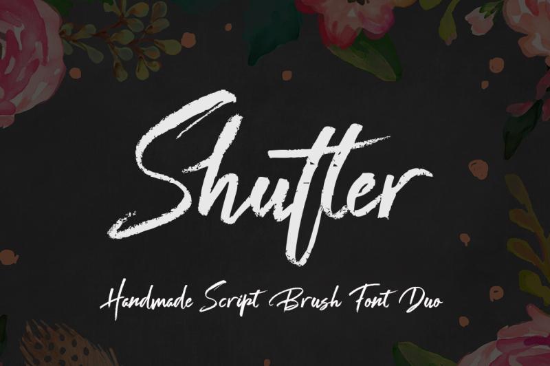 shutter-font-duo