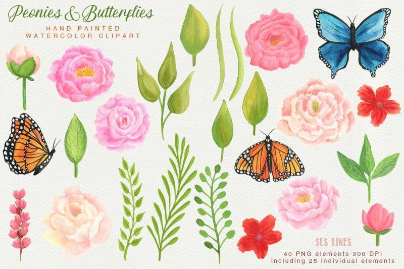 peonies-amp-butterflies-watercolors