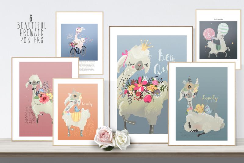 floral-llamas