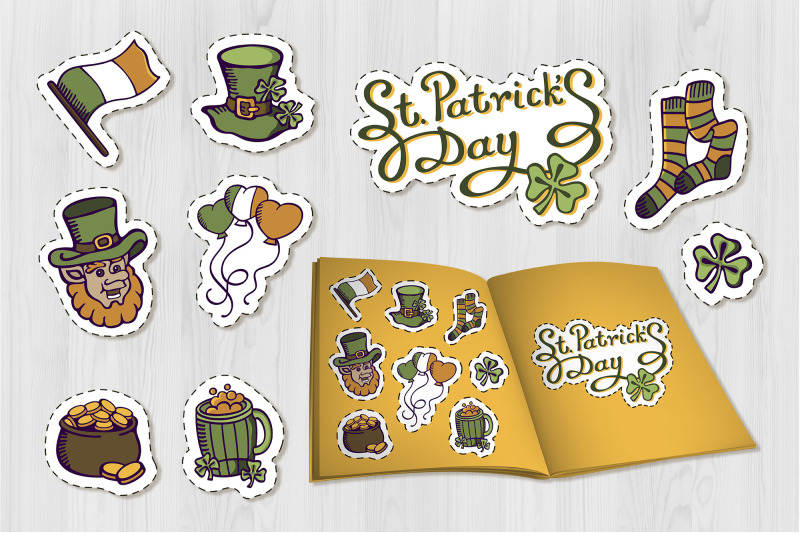 st-patrick-039-s-day-isolated-set