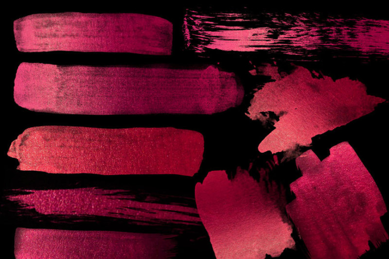 burgundy-paint-strokes