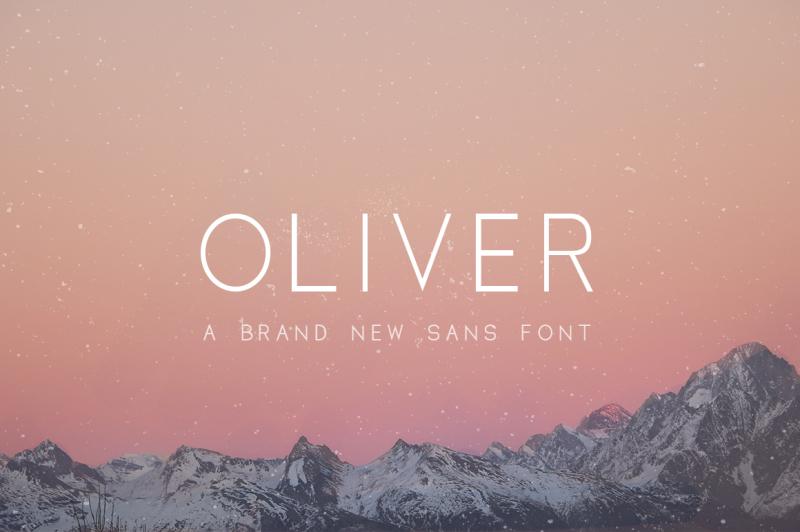 oliver-font