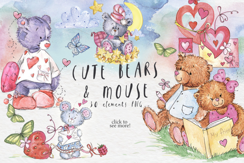 so-lovely-bears-and-one-mouse