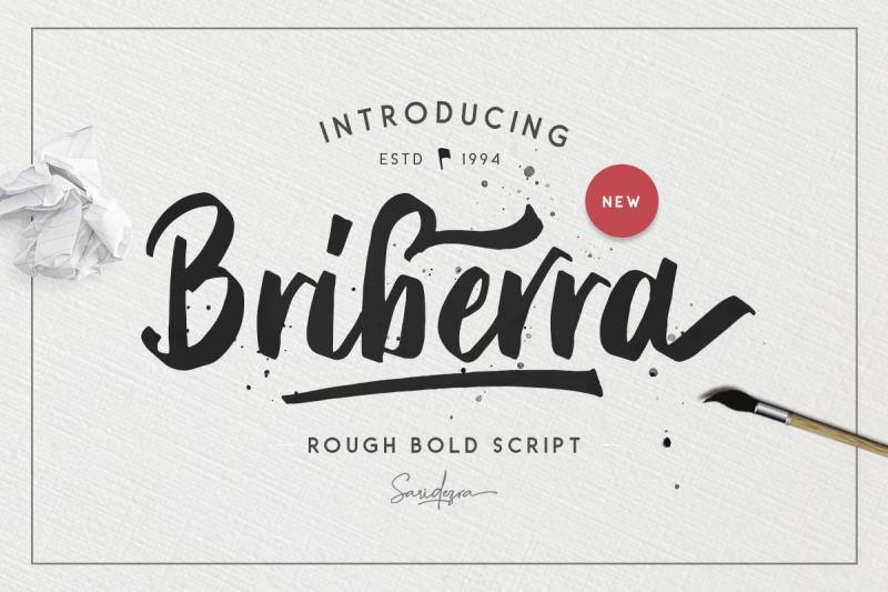 briberra-rough-bold-script