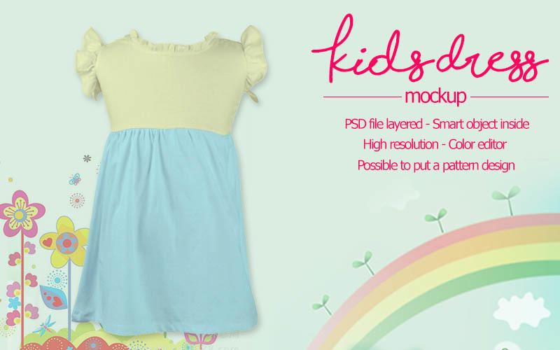 kids-dress-mockup