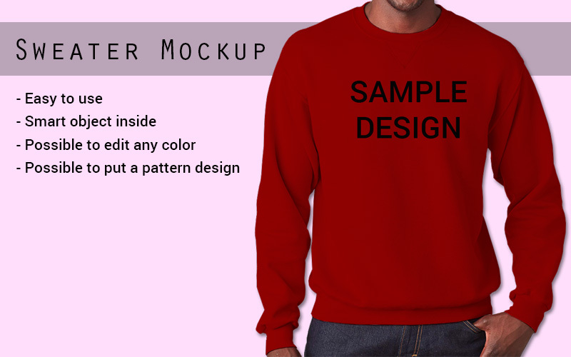 Download Sweater Psd Mockup Yellowimages