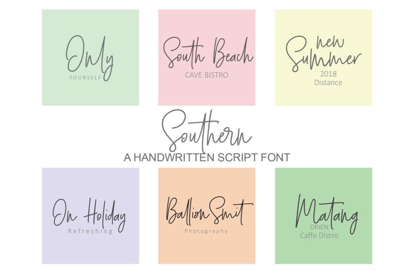 southern-script