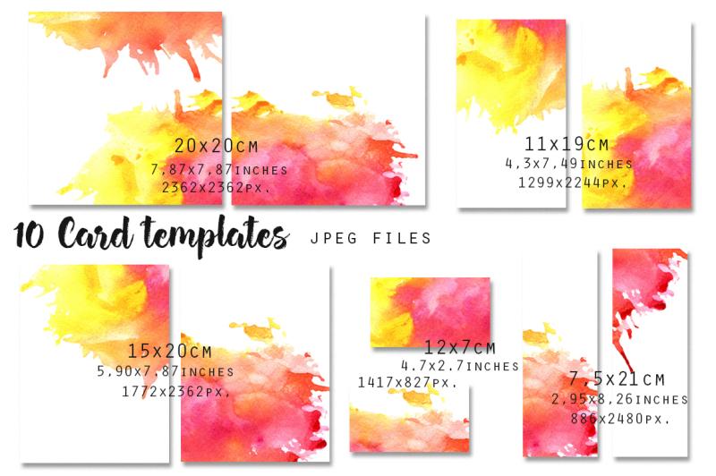 card-templates-set-5