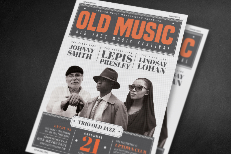 old-vintage-music-flyer