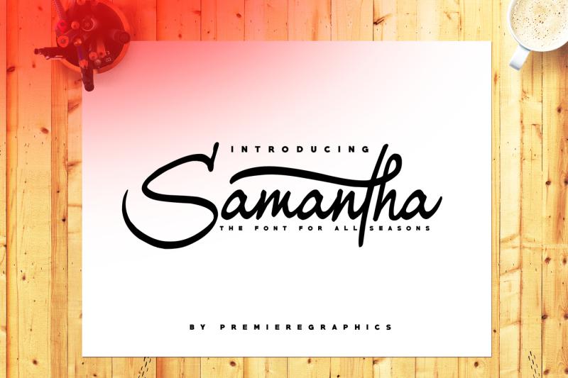 samantha-font