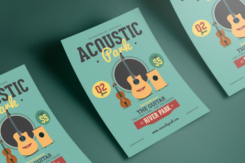 accoustic-music-flyer