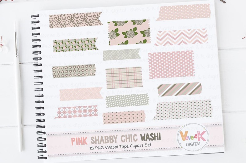 pink-floral-washi-tape-clipart