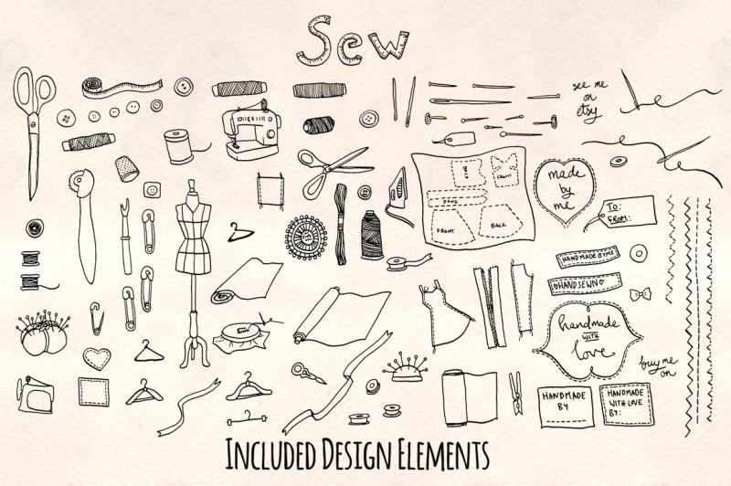 sewing-dressmaker-crafts-graphic-kit