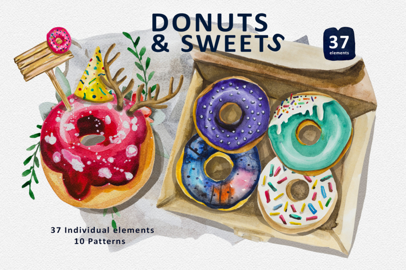 donuts-and-sweets-collection