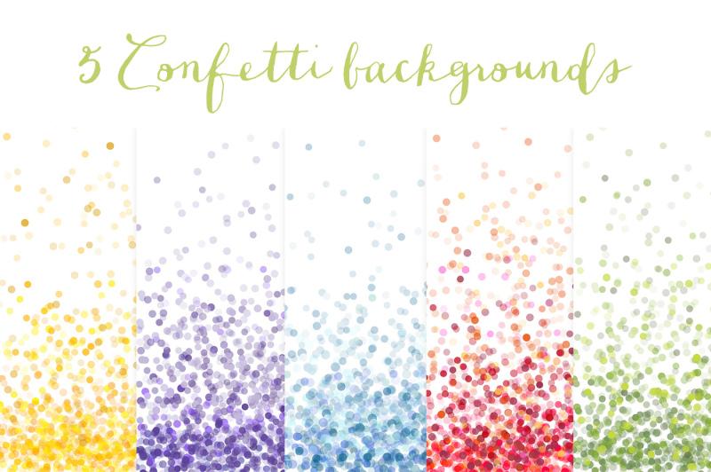 confetti-backgrounds-vol-1