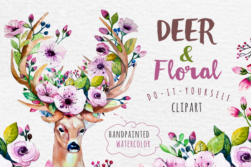 deer-skull-and-floral